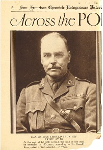 Sir Ronald Ross (1857-1932): Physician-Writer of the British Empire